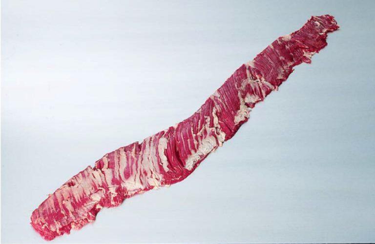 corte de carne entrana