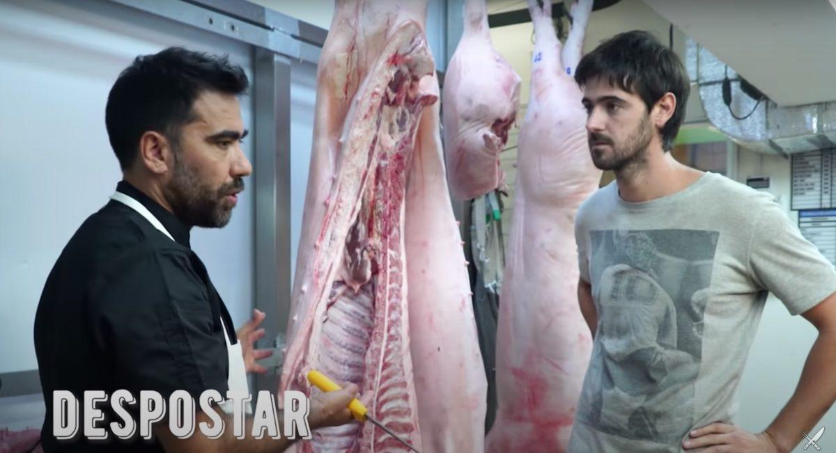 despostar cortes de carne de cerdo